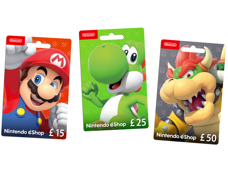 Nintendo eShop Gift Card, The Critical Player, thecriticalplayer.com