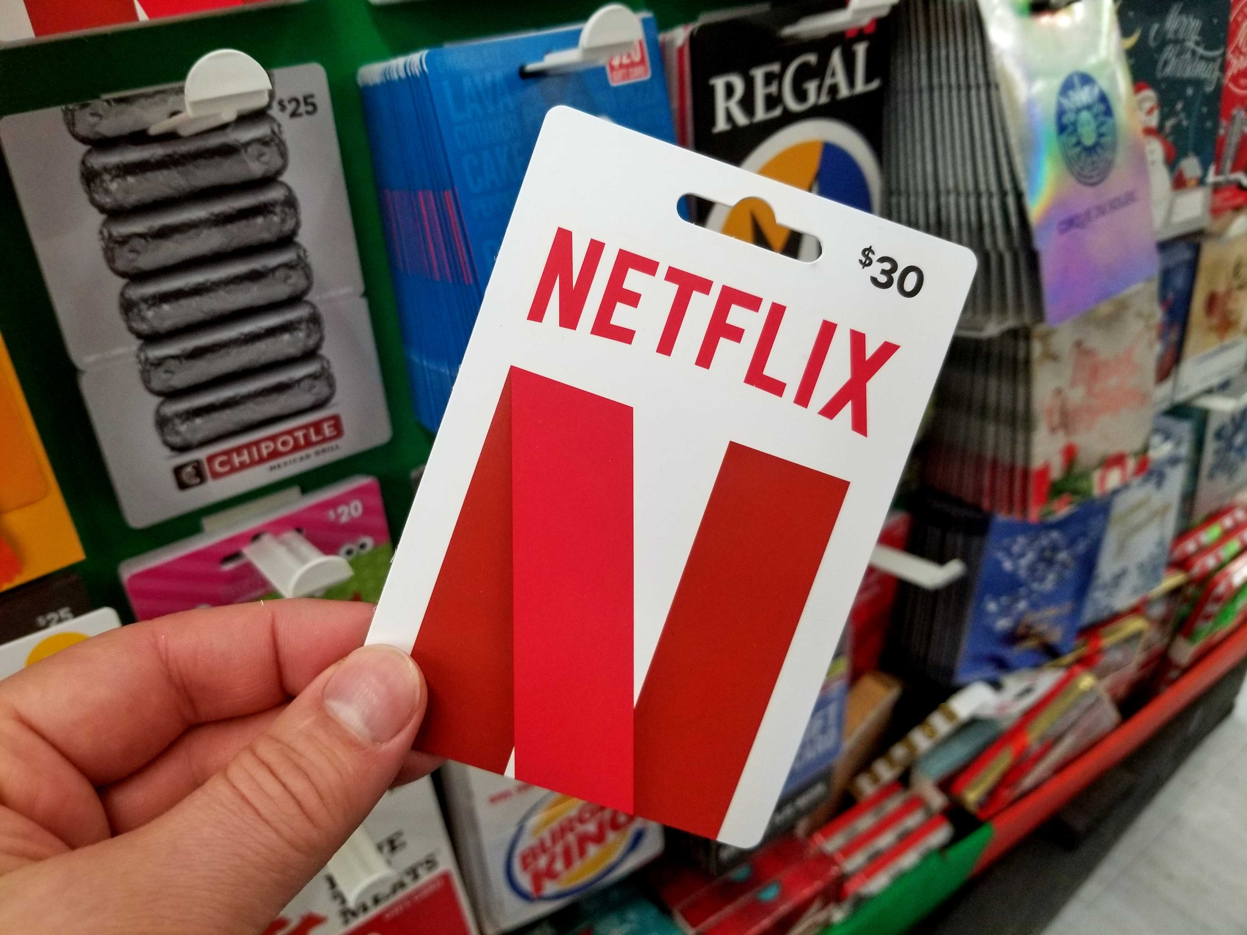 netflix-gift-card, The Critical Player, thecriticalplayer.com